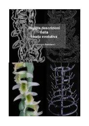 Doppie descrizioni nella teoria evolutiva - circolo BATESON