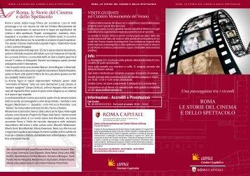 Roma, le Storie del Cinema e dello Spettacolo - Turismo Roma
