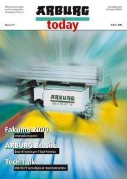 Fakuma 2000 ARBURG Brasile Tech Talk