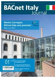 BACnet Italy Journal