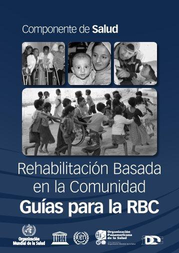 Guías para la RBC: Componente de Salud - libdoc.who.int - World ...