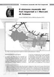 Il sistema museale dei Fori Imperiali e i Mercati di Traiano
