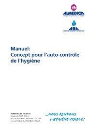 Manuel: Concept pour l'auto-contrôle de l'hygiène - Almedica