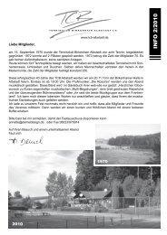 Klick mich - Tennisclub Birkenhain Albstadt e.V.