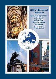 ECBE's 18th annual conference