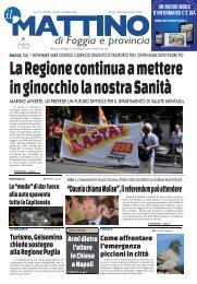 """""""Daunia chiama Molise"""", il referendum può attendere"""