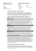 Кодекс этики и поведения - TeliaSonera - Page 2