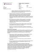 Кодекс этики и поведения - TeliaSonera - Page 4