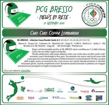 PCG BRESSO - Polisportiva Circolo Giovanile BRESSO