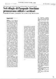 Criminalità / Nel rifugio di Pasquale Stochino pranzavano stilisti e ...