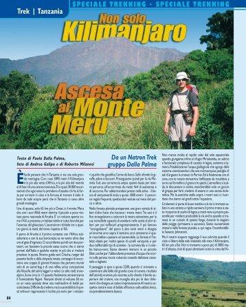 Trek | Tanzania - Ascesa al monte Meru - Viaggi Avventure nel mondo