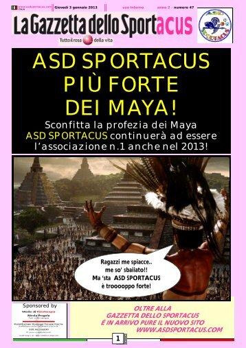 La Gazzetta dello Sportacus n.47 - ASD Sportacus