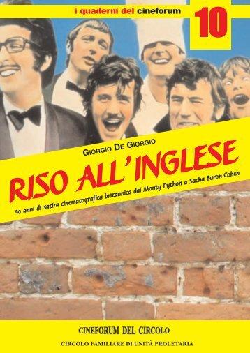 copertina riso inglese - Cineforum del Circolo