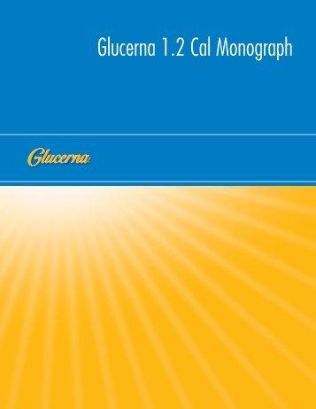Glucerna 1.2 Cal Monograph - Abbott Nutrition