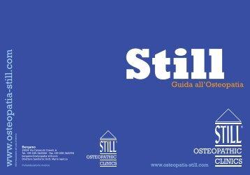 Scarica in formato PDF la Guida all'Osteopatia - Still Osteopathic ...
