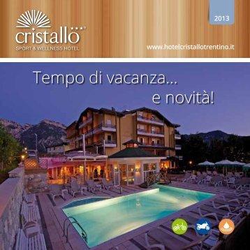 Scarica la nostra brochure - Hotel Cristallo