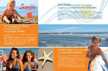 Un ventaglio di offerte nelle spiagge venete ... - Agenzia Lampo
