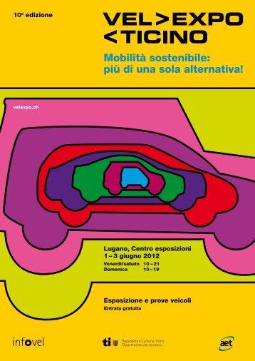 Catalogo Vel Expo Ticino 2012 - Infovel