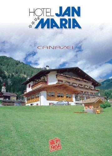 Brochure Hotel Jan Maria - Val di Fassa