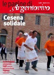 Le Pagine di Argentovivo - N. 2 - Luglio-Agosto 2011