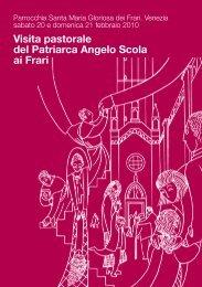 Libretto Visita Pastorale (pdf) - Basilica dei Frari