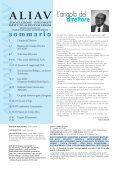 rivista della associazione diplomati istituto aldini valeriani - aliav - Page 5