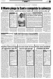 30/04/2007 Campionato 33a Giornata: Girone F - serie d news