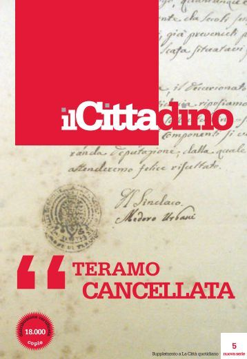 CANCELLATA - La Città Quotidiano