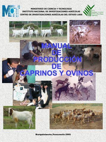MANUAL DE PRODUCCIÓN DE CAPRINOS Y OVINOS - Inicio - Inia