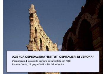 L'esperienza di Verona