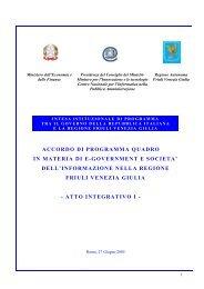 Accordo Di Programma Quadro In Materia Di Societa Dell Digitpa