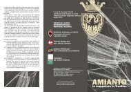 Depliant informativo amianto - Comune di Rovereto