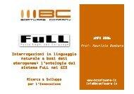 presentazione - AMFM GIS Italia