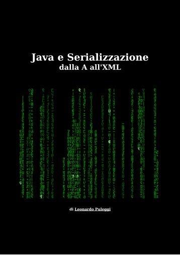Java e Serializzazione - Leonardo Puleggi