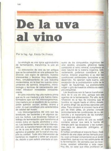 De la uva al vino - Banco de Seguros del Estado