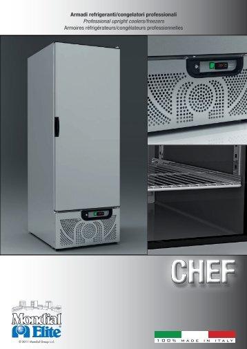 Armadi refrigeranti/congelatori professionali ... - MONDIAL ELITE