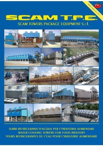torri refrigeranti d'acoua per l'industria alimentare water ... - SCAM TPE