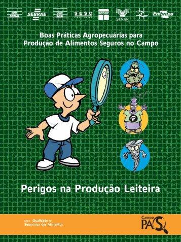 Perigos na Produção Leiteira - Infoteca-e - Embrapa
