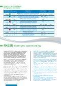 Fluidi refrigeranti Refrigerant Fluids Fluídos refrigerantes Prodotti ... - Page 6