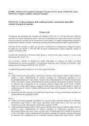 Mozione dei Consiglieri Comunali - Comune di La Spezia