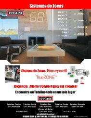 Sistemas de zonas Honeywell - Totaline