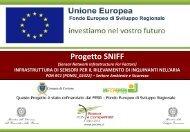 SNIFF - Presentazione Progetto - Akrea spa