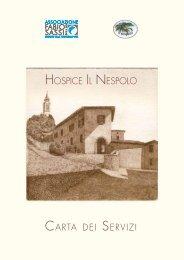 HOSPICE IL NESPOLO - Associazione Fabio Sassi