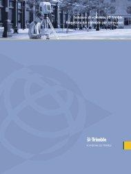 ScANNER 3D tRIMbLE gX - Instrumetrix