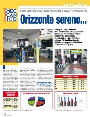 I TRATTI CARATTERISTICI DELLE AUTOFFICINE ITALIANE IN ...