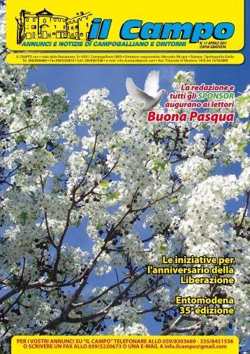 Numero 17 Aprile 2011 - Il Campo