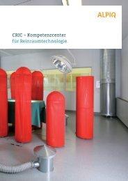 Kompetenzcenter CRIC: Broschüre PDF - Alpiq Intec Schweiz