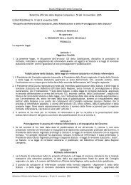 Legge Regionale. del 9 novembre 2005 n. 19 - Regione Campania