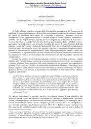 Moderata Fonte e L.marinelli - AARDT