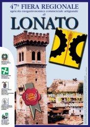Speciale Fiera 2005 - Comune di Lonato del Garda